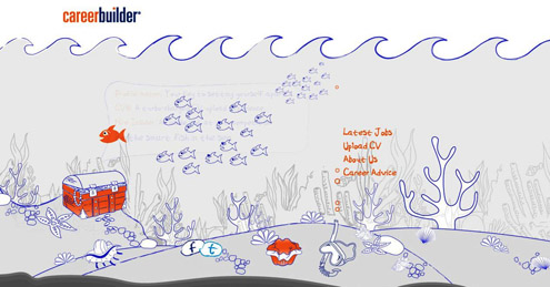 CareerBuilder India Be The Smart Fish Campaign