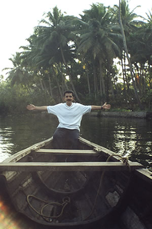 Embracing the back waters of Kerala!!
