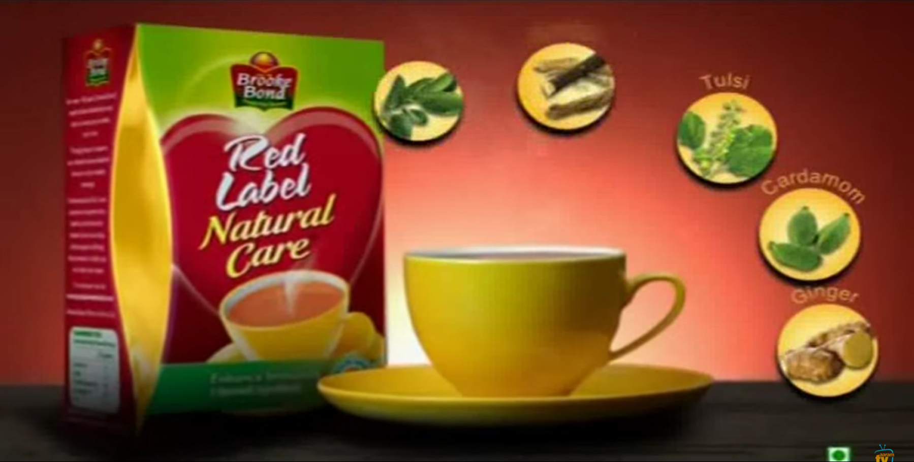 A Free Cup Of Tea With Brooke Bond Red Lebel Indian