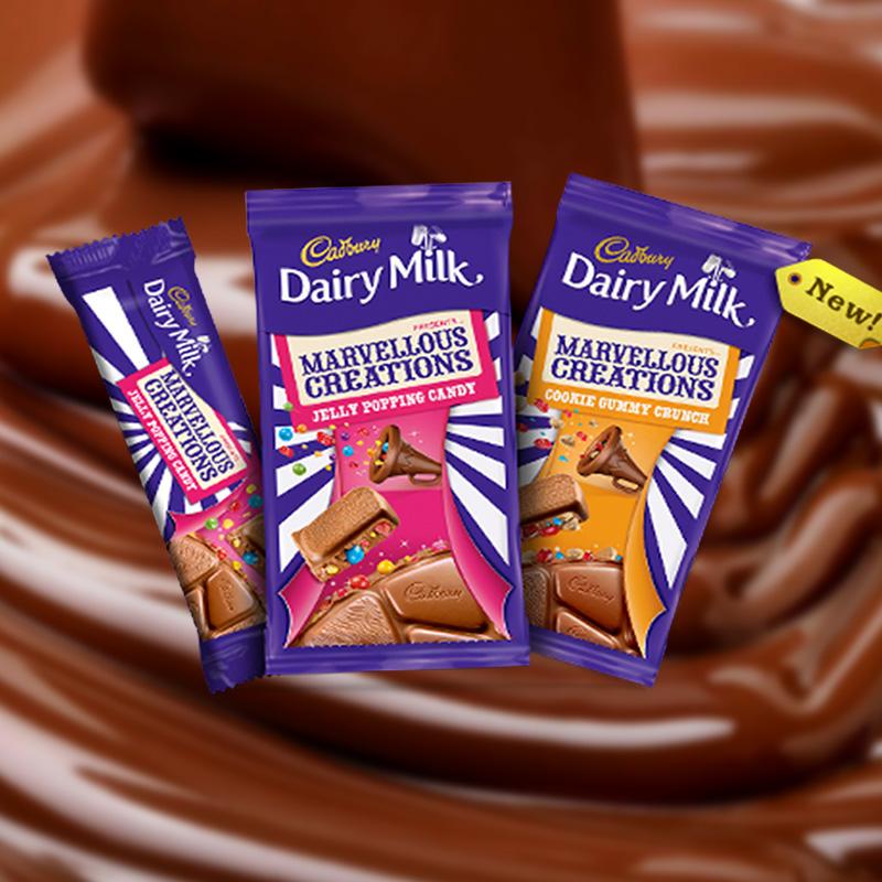 Marvelous Creations: Mondelez India Launches Cadbury Dairy Milk Marvellous