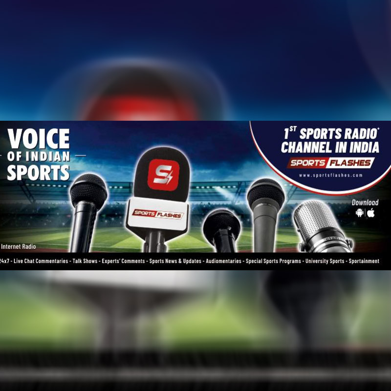 Launch of 1st indian sports radio channel - sports flashes