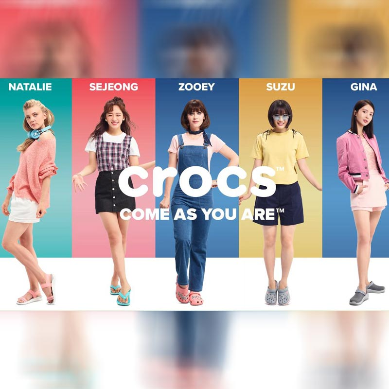Crocs Launches Third Edition Of Come As You Are Campaign