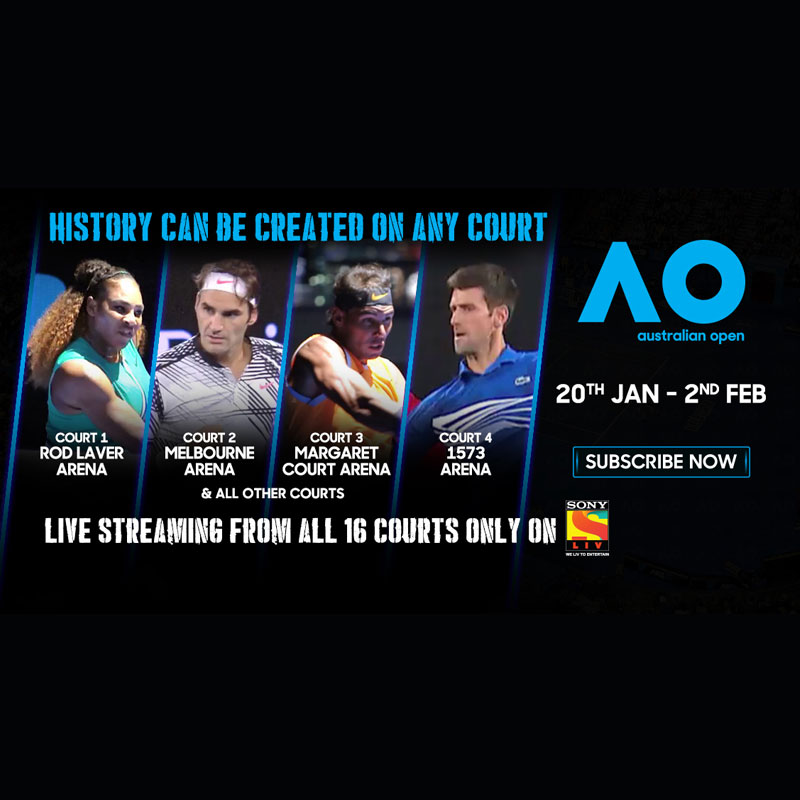 Sonyliv To Live Streams 16 Simultaneous Feeds Of Australian