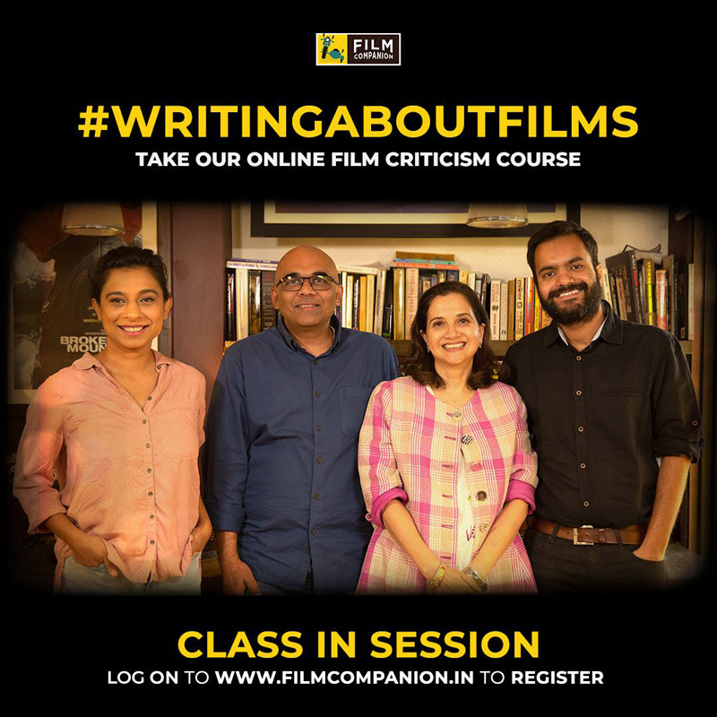 Film Companion Brings Together Experts And Enters The Education Industry Indian Television Dot Com