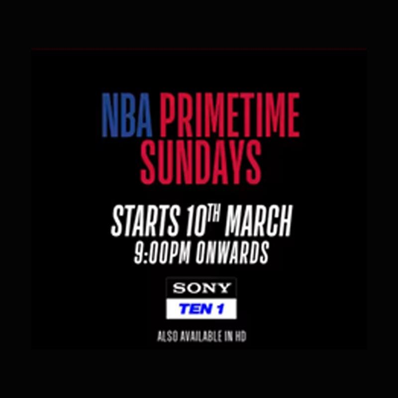 NBA India announces NBA primetime sundays campaign | Indian