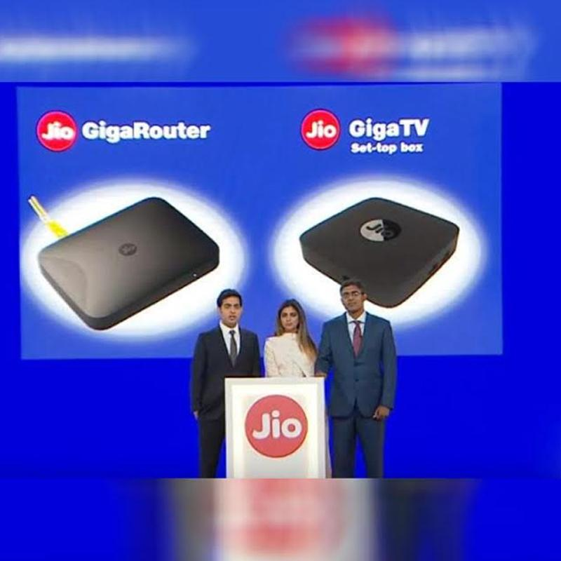 Jio to connect GigaFiber, Home TV and apps | Indian Television Dot Com