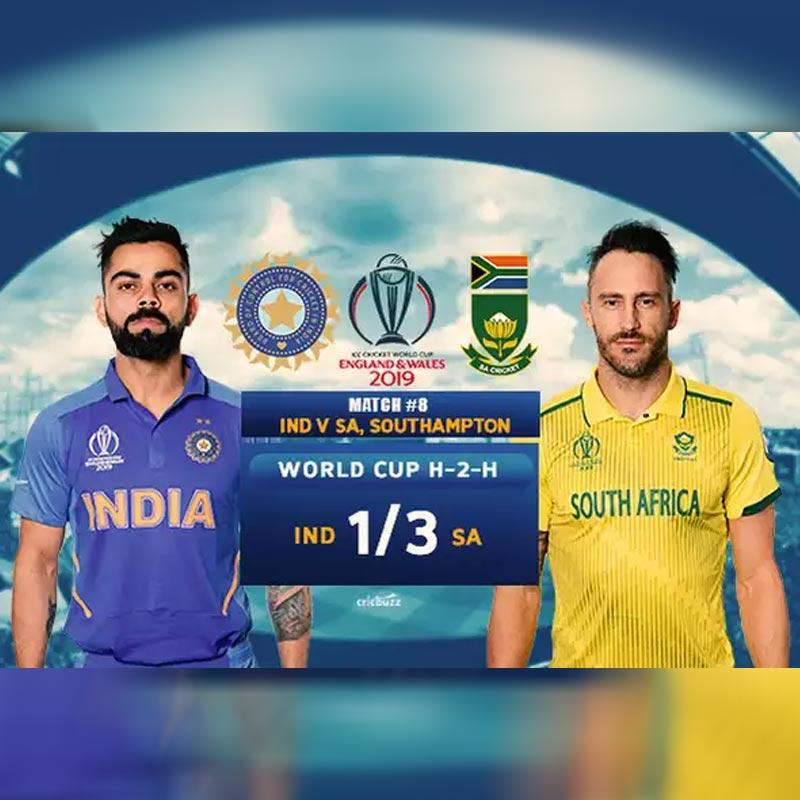 ICC World Cup 2019, India vs South Africa: TV listing, live