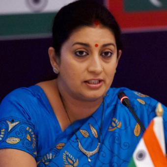 https://www.indiantelevision.com/sites/default/files/styles/340x340/public/images/tv-images/2018/02/09/Smriti-Irani.jpg?itok=Rh1J7XOW