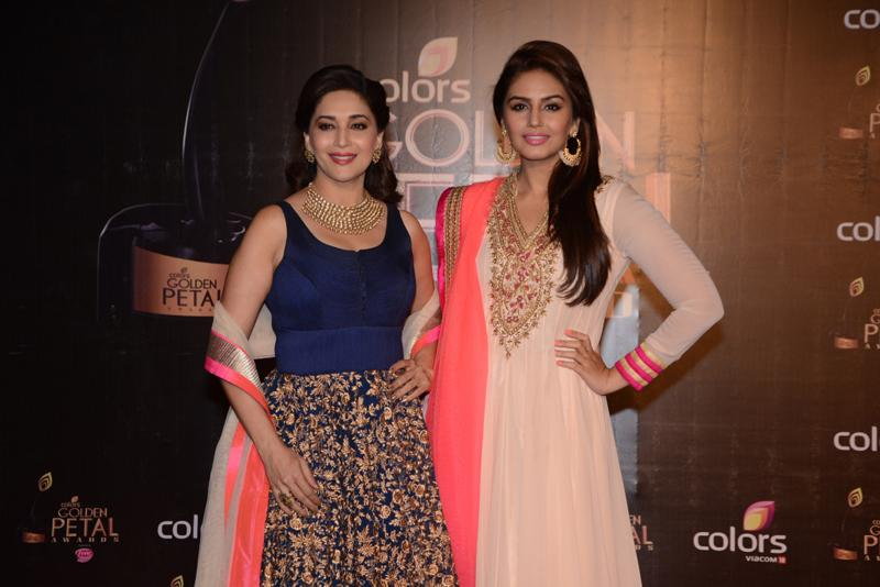 Madhuri Dixit-Nene and Huma Qureshi