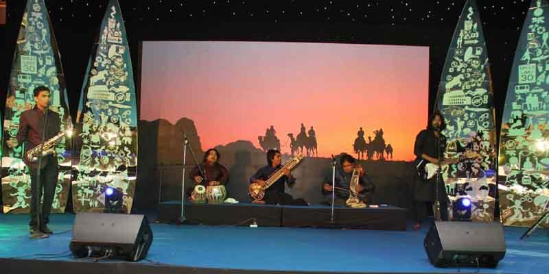 Performance by Jaipur Band at 'The Lonely Planet Magazine India Travel Awards 2014'