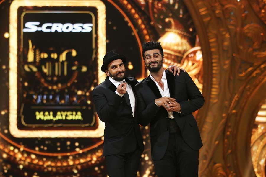 Ranveer Singh and, Arjun Kapoor