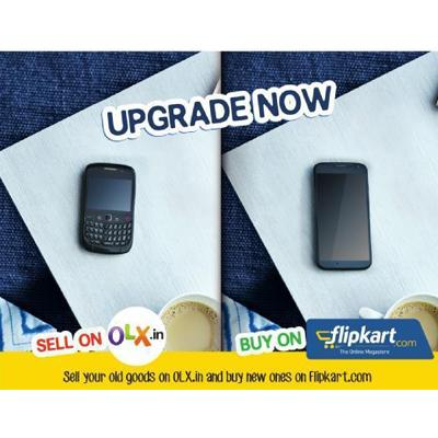 OLX and Flipkart ink unique marketing tie-up | Indian Television Dot Com
