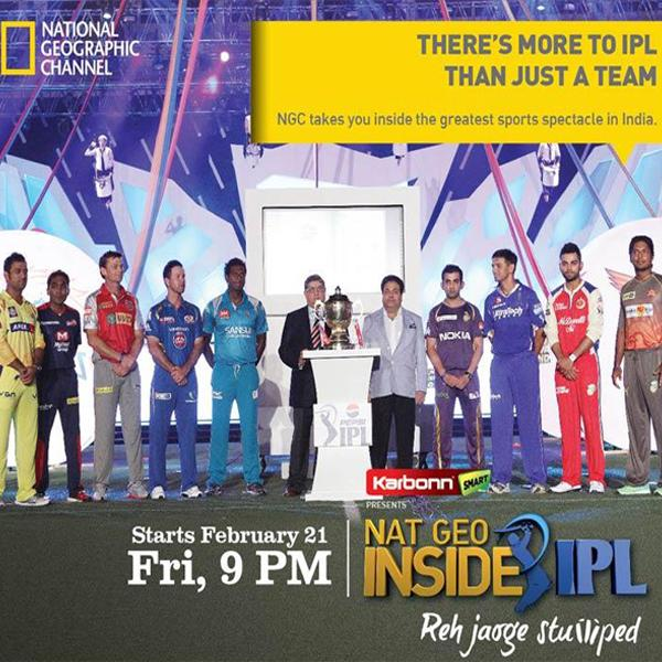 Nat Geo takes viewers 'Inside IPL' | Indian Television Dot Com
