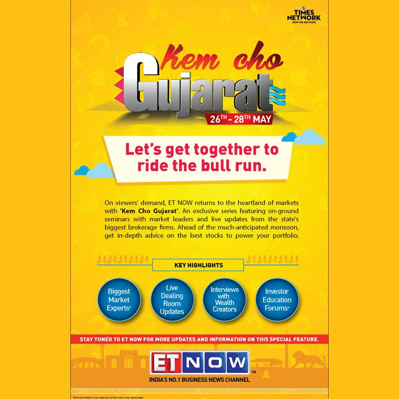 ET Now brings 'Kem Cho Gujarat' on 26 May | Indian