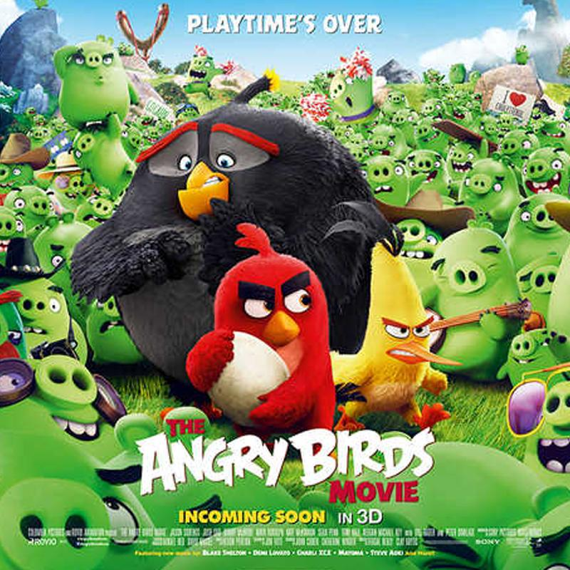 The Angry Birds Movie Flies To The Top Of The Box Office With Gross