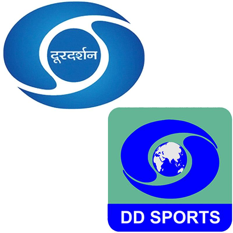 DD India and DD Sports moved to different satellites from