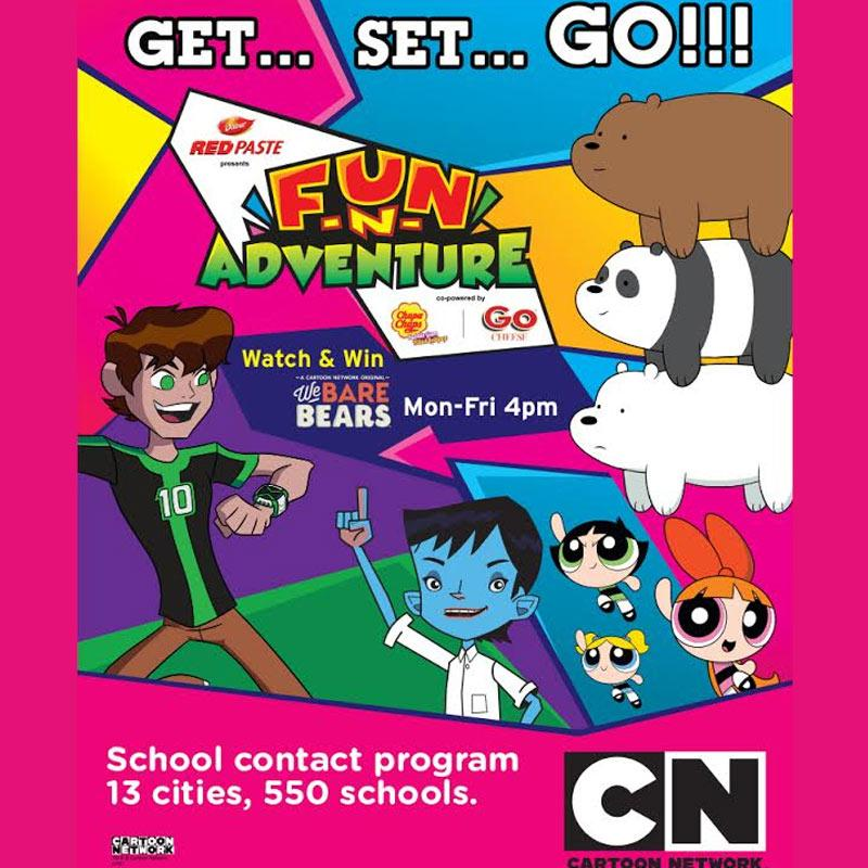 cartoon network to reach out to 1 million kids with its school