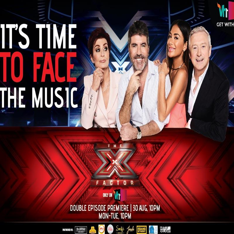 Vh1 to air the latest season of The X Factor UK in India   Indian