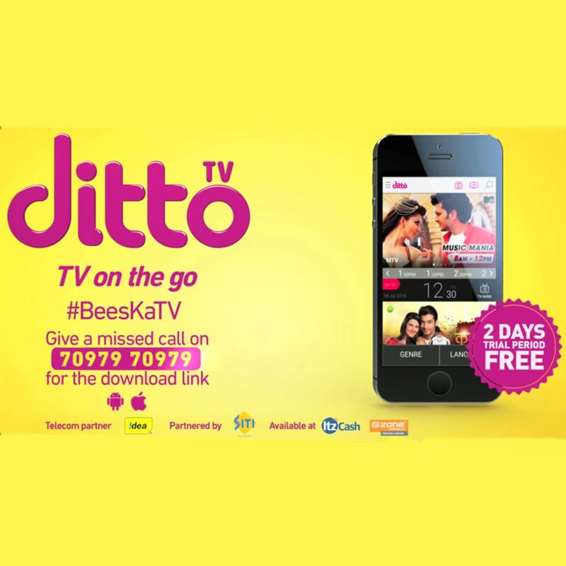 Zeeq comes on ditto tv platform to offer content online | indian.