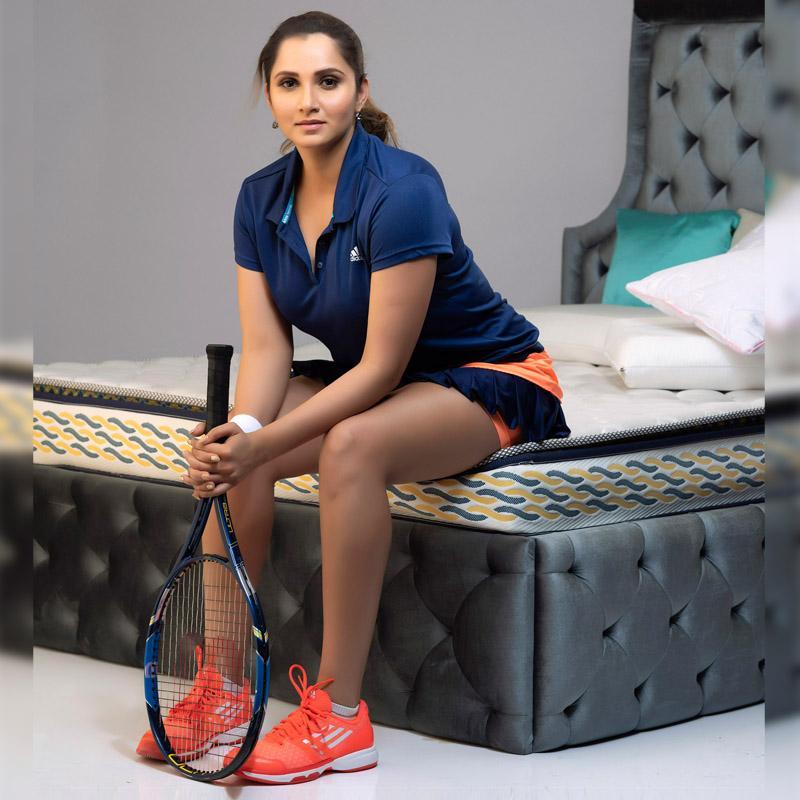 Centuary Mattresses Gets Sania Mirza As Brand Ambassador
