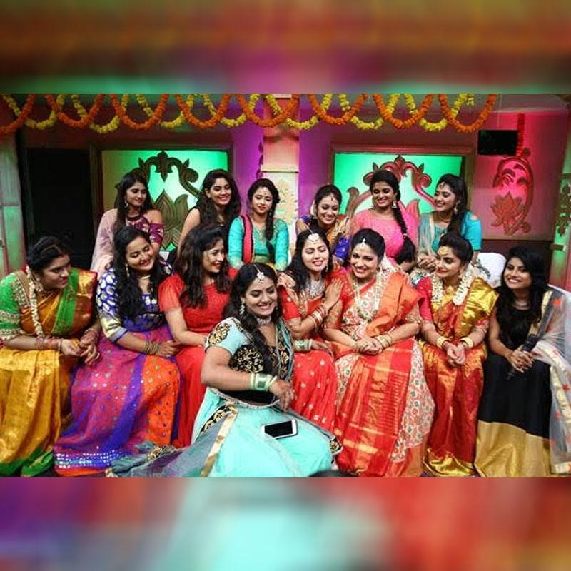 Zee Telugu Kutumbam's women get together to celebrate the