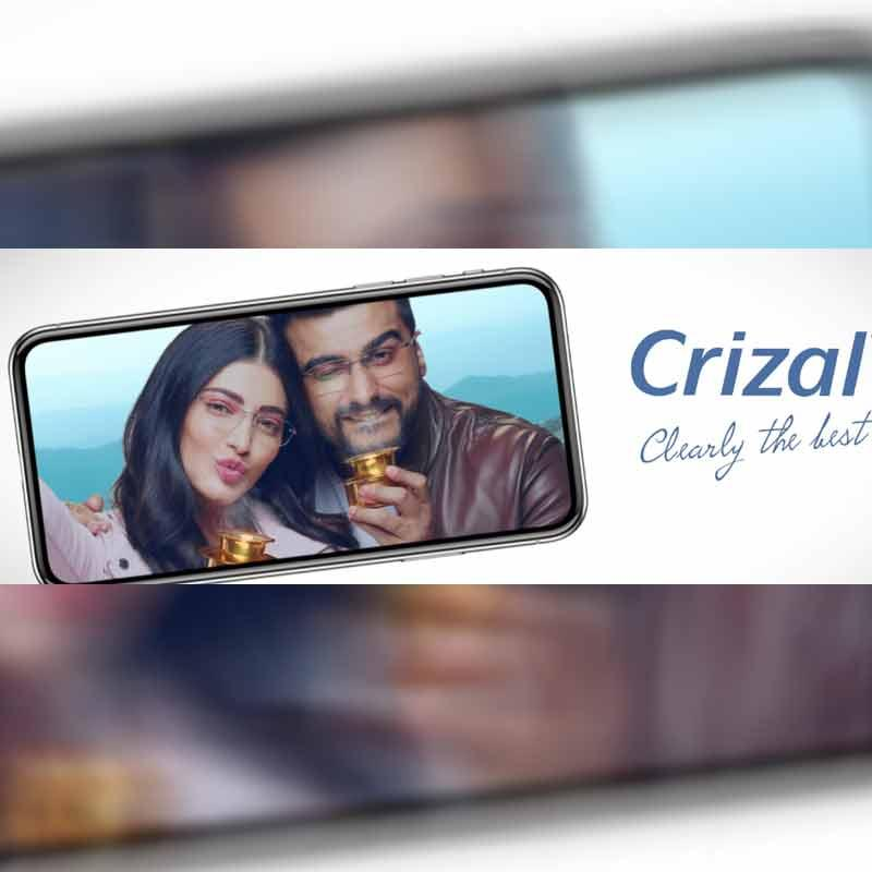 a484a20156 Crizal unveils 2018 ad featuring Shruti Haasan and Arjun Kapoor ...