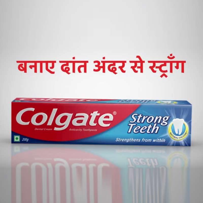 Colgate Strong Teeth launches 'Andar se Strong' campaign
