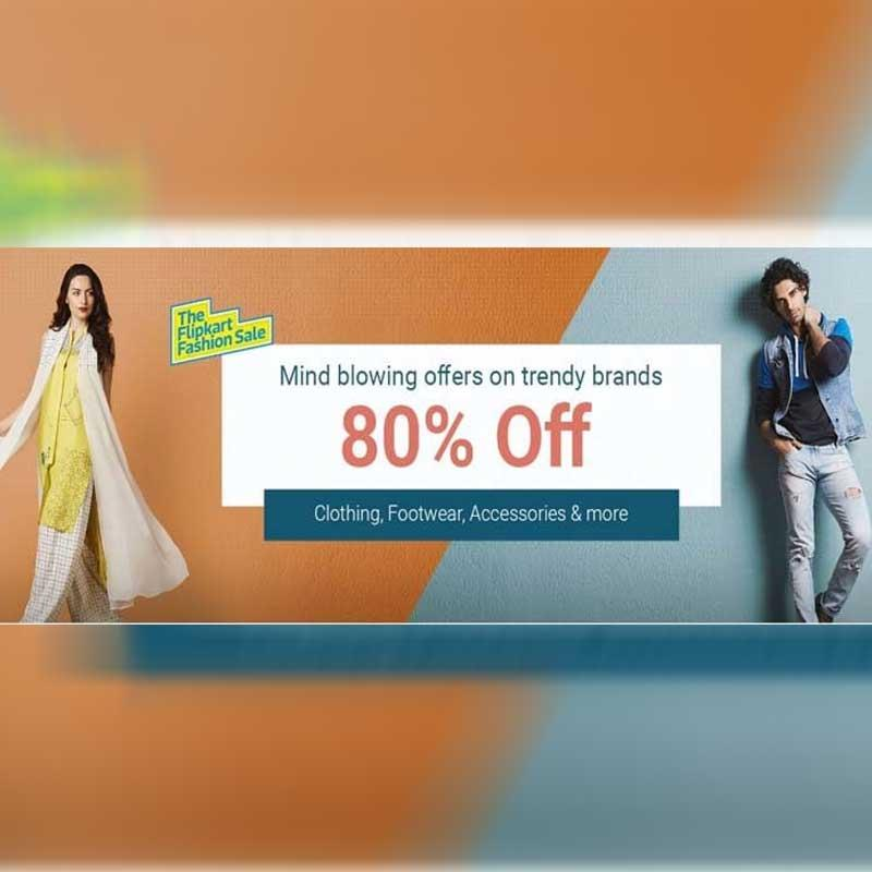 08737b38f0 Flipkart Fashion announces first-ever  Best of Season Sale  with the best  offers from top brands