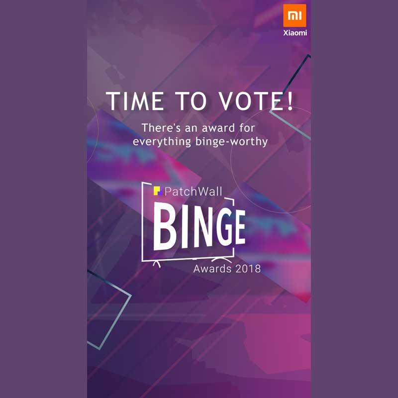 Xiaomi India holds first ever PatchWall Binge Awards | Indian