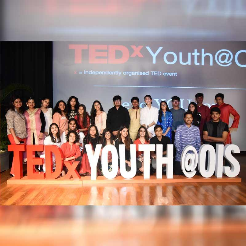 TEDxYouth with the theme of 'Evol-YOU-tion' held at Oberoi