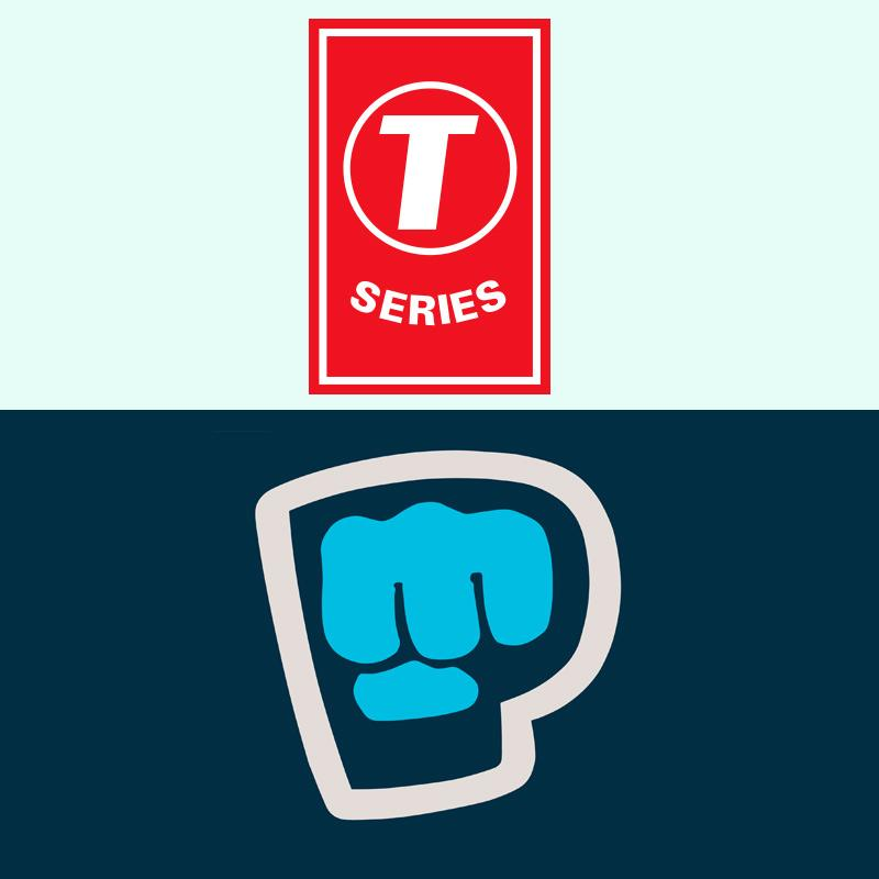 Series briefly claims No.1 YouTube channel position from PewDiePie