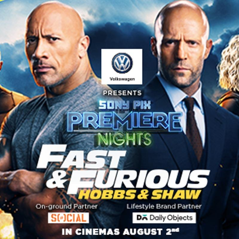 Watch the exclusive premiere of 'Hobbs and Shaw' before