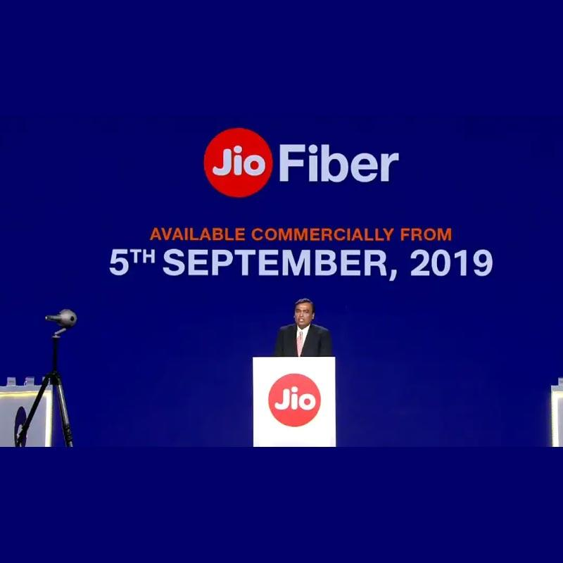 Jio GigaFiber service to launch on 5 Sept 2019 | Indian Television