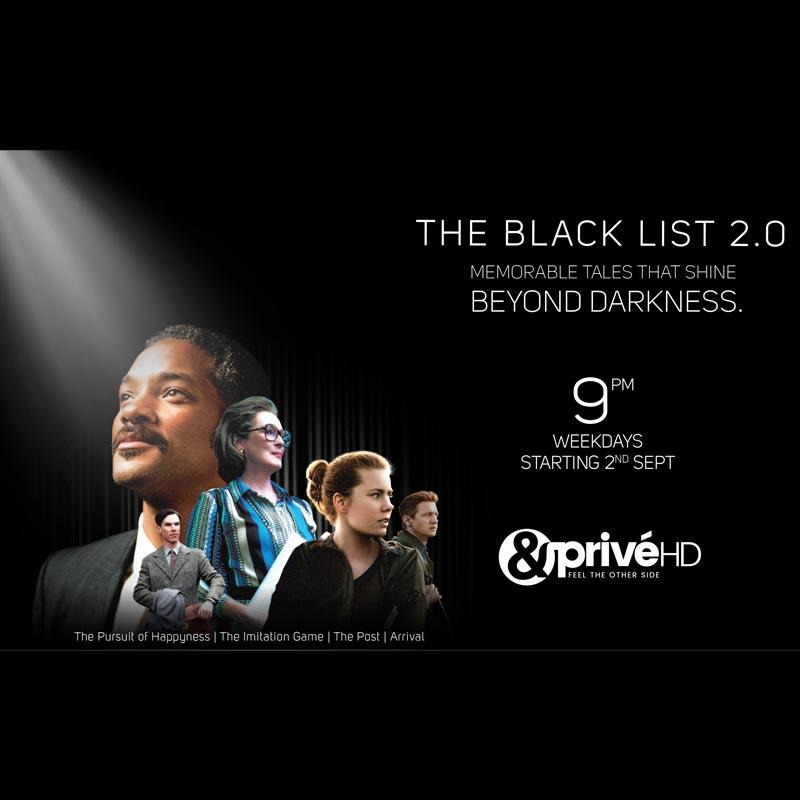 &PrivéHD presents The Black List 2 0  and The Indian Blend